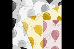 100 Seamless Balloon Pattern Kid Birthday Digital Papers Product Image 5