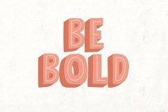 Bolder Typeface Product Image 2