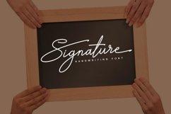 Signature TypeFace Product Image 1
