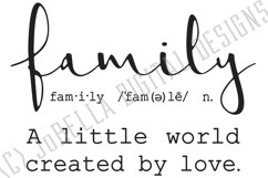 Family SVG and Printable - Farmhouse Definition Product Image 3