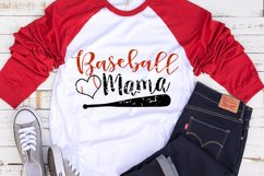 Baseball Mama SVG | Baseball Mom SVG | Baseball SVG Product Image 3