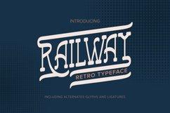Railway   Retro Typeface Product Image 1