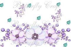 Flowers Digital Paper, Floral scrapbooking paper Product Image 5