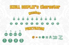 Halloween Skull Display font Product Image 3