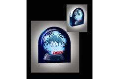 Snow Globe Winter wonderland Train Product Image 3