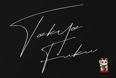 Tokyo Fuku Signature Font With Swash Product Image 1
