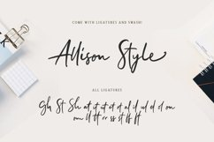 Allison Style - Font Duo Product Image 2