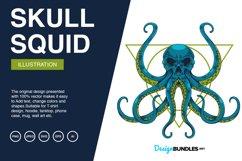 Squid Skull Illustrations Product Image 1