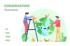 Conservation Illustration Product Image 1