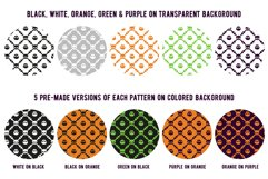 80 Halloween Seamless Vector Pattern Swatches Product Image 4