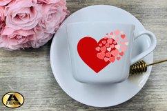 Heart SVG Valentine SVG Valentines Day SVG Love SVG Cut file Product Image 3