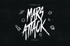 Mars Attack Typeface Product Image 1
