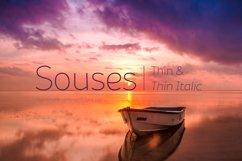 Souses — Thin & Thin Italic Product Image 1