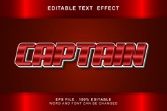 captain Text Effects editable words and fonts can be replac Product Image 1