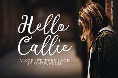 Web Font Hello Callie Product Image 1