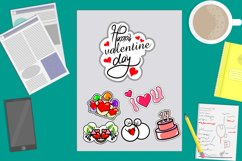 bundles set valentines Day stickers Product Image 2