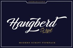 Hangberd Script Product Image 1
