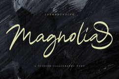 Magnolia A Stylish Calligraphy Font Product Image 1