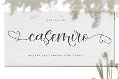 Casemiro Script Product Image 1