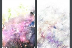 Galaxy Watercolor Ombre Backgrounds Product Image 4