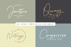 Hellena Jeslyn Signature Font Duo Free Logo Product Image 4