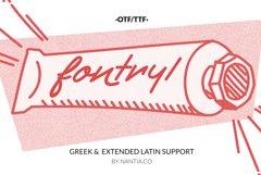 Retro Handwritten Font Fontryl Product Image 1