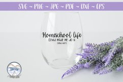 Homeschool - Covid Made Me Send Help Back to School SVG Product Image 2