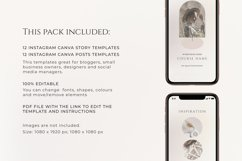 Neutral Instagram Posts and Stories Templates Product Image 4