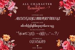 Beautyface Script Product Image 6