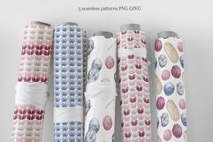 Knitting and Crochet. Watercolor collection Product Image 5