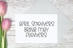 Colors of Spring - A Quirky Hand-Lettered Font Product Image 3