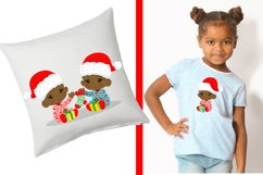 BABY'S FIRST CHRISTMAS CLIPART - AFRICAN AMERICAN BABY Product Image 4