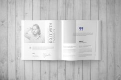Square Book Mock-Up / Hardcover Product Image 4