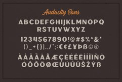 Audacity - Font Duo EXTRAS Product Image 4