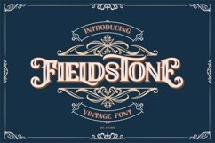 FIELDSTONE - LAYERED FONTS Product Image 1