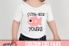 O'Fishally Yours Valentine SVG Product Image 2