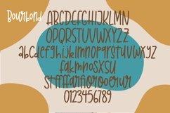 Web Font Bourbond - Handlettered Font Product Image 5