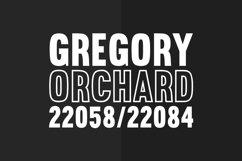 Brotherton Vintage Sans Serif Font Typeface Product Image 2