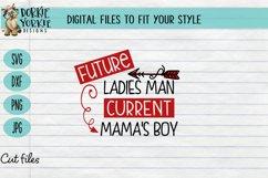 BUNDLE - Boy Mama - 11 files - heart, mom, mob, SVG cut file Product Image 3