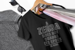 Zebra BBoard - Decorative Font Product Image 5