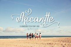 Aricantte - Handwritten Font Duo Product Image 1