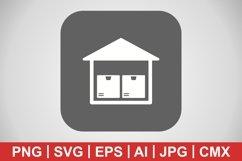 Vector Storage Unit Icon Product Image 1