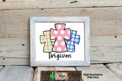 Easter Forgiven Hand Drawn Doodle Dye Sublimation PNG Product Image 3
