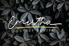 Emertha Classy Script Product Image 1