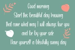 Web Font LovelyDay - Pretty Script Font Product Image 4