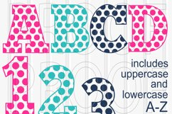 SVG Files Set of 62! Letter and number set includes Uppercase, Lowercase, and Numbers 0-9 svg/png/jpg Product Image 1