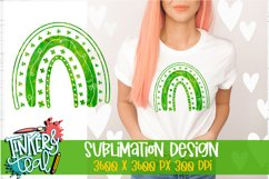 Clover Rainbow Sublimation Design / Sublimation PNG Product Image 1