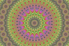 5 fractal mandala design backgrounds Product Image 2