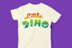 Dinosaur Font for Crafters with Cricut and Silhouette Product Image 2
