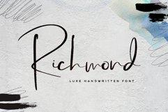 Richmond Font Product Image 1